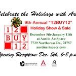 12BUY12 at Austin Art Space through Jan. 11