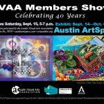 AVAA Members Show – Celebrating 40 Years